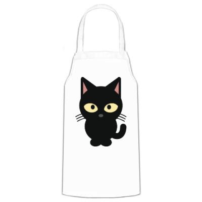 Фартук Черный Котик