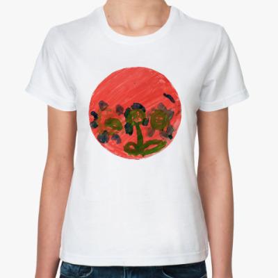 Классическая футболка Тарелка