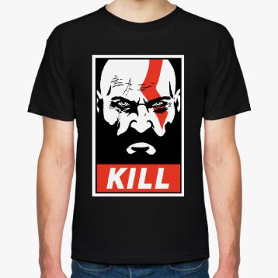 Футболка Кратос Kill | Kratos God of War