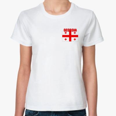 Классическая футболка Georgia (Грузия)