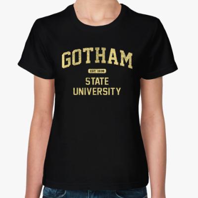 Женская футболка Gotham University