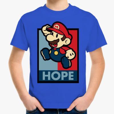 Детская футболка Супер Марио