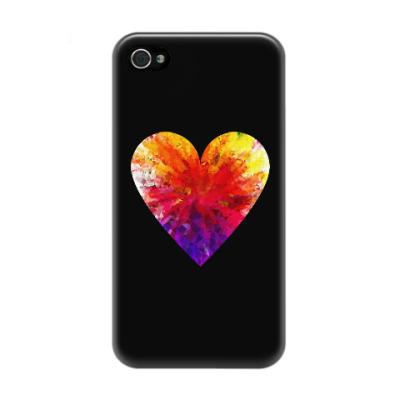 Чехол для iPhone 4/4s Сердечко