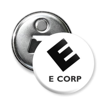 Магнит-открывашка E Corp