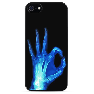 Чехол для iPhone Рентген кисти