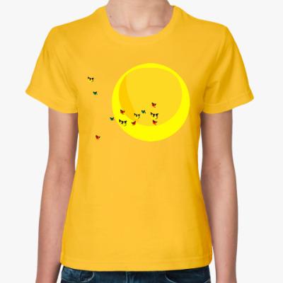 Женская футболка Перелётные коты