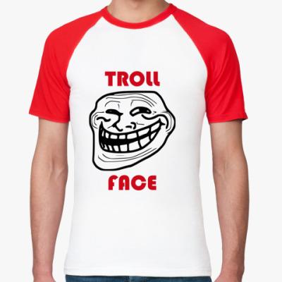 Футболка реглан Troll Face