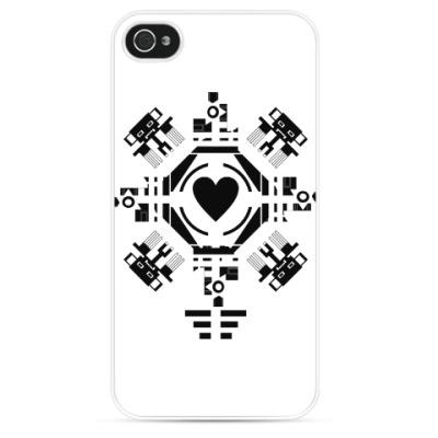 Чехол для iPhone Обезьянье сердце