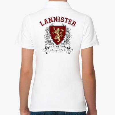Женская рубашка поло House Lannister