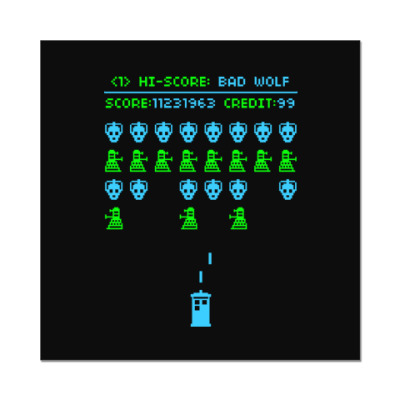 Doctor Who Old School Game