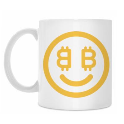 Кружка Bitcoin Smile