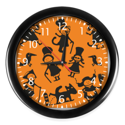 Часы 'Оранжевый стимпанк'