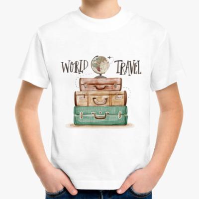 Детская футболка Путешествие