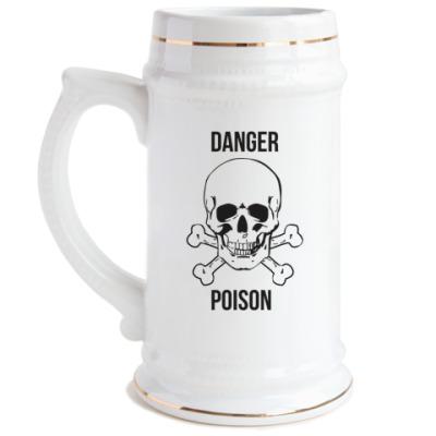 Пивная кружка 'Poison'