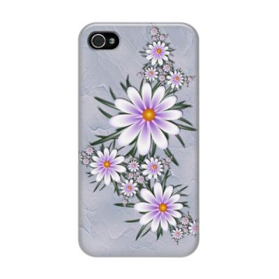 Чехол для iPhone 4/4s Нежные цветы