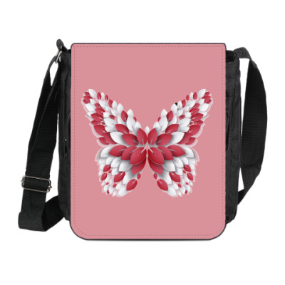 Сумка на плечо (мини-планшет) Бабочка