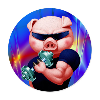 Виниловые наклейки IRON PIG
