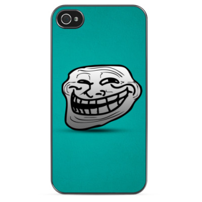 Чехол для iPhone Troll face