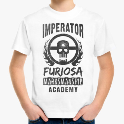 Детская футболка Furiosa Marksmanship Academy