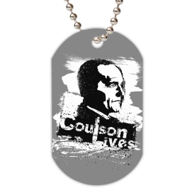 Жетон dog-tag Coulson Lives