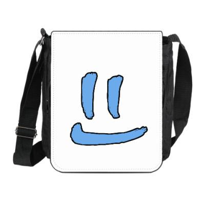 Сумка на плечо (мини-планшет) Чистая улыбка