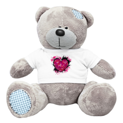 Плюшевый мишка Тедди 'Сердце'