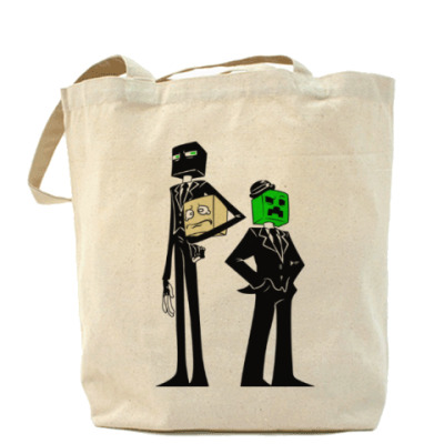 Сумка Enderman & Creeper . Minecraft