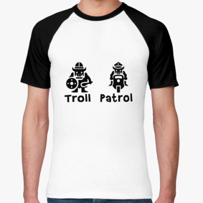 Футболка реглан Troll&Patrol