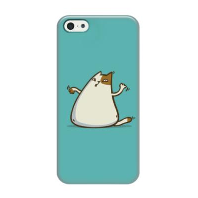 Чехол для iPhone 5/5s  Пятничный Котик №20