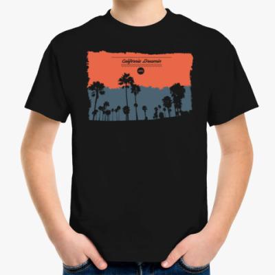 Детская футболка Город в Калифрнии (USA)