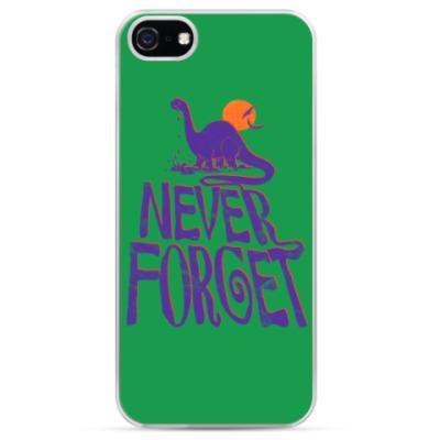 Чехол для iPhone Помни динозавров