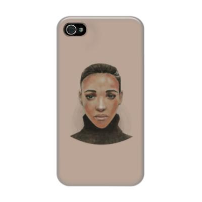 Чехол для iPhone 4/4s Эфиопская девушка