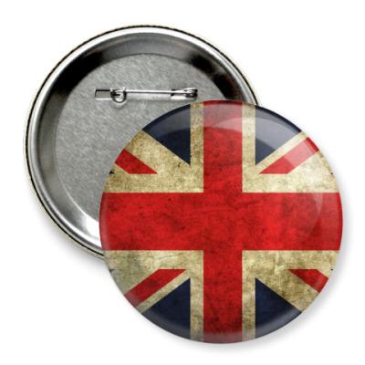 Значок 75мм  Britain