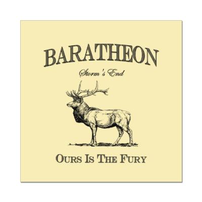Наклейка (стикер) Baratheon