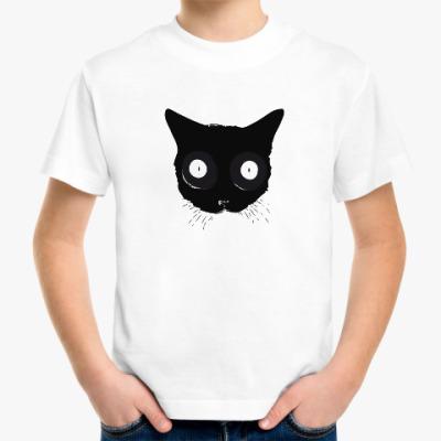 Детская футболка Мордочка кошки