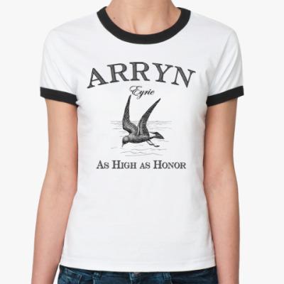 Женская футболка Ringer-T Arryn