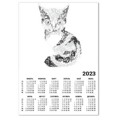 Календарь котик