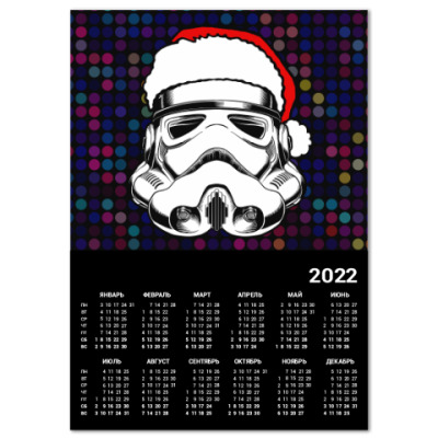 Календарь Star Wars New Year