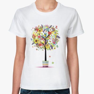 Классическая футболка Деревце
