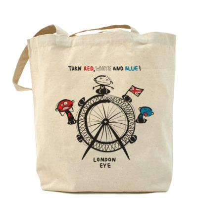 Сумка Холщовая сумка London Eye