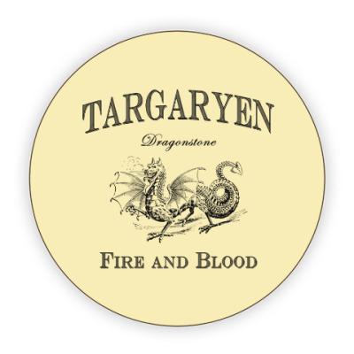 Костер (подставка под кружку) Targaryen