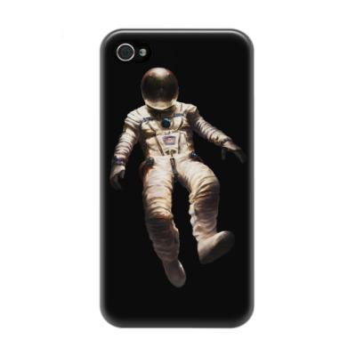 Чехол для iPhone 4/4s В открытом космосе