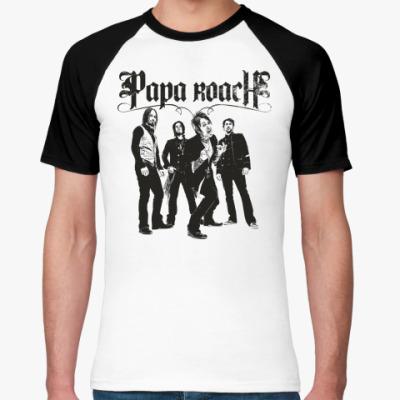 Футболка реглан Papa Roach Group