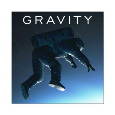 Наклейка (стикер) Gravity
