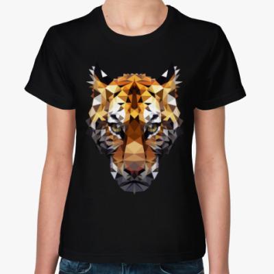 Женская футболка Тигр / Tiger