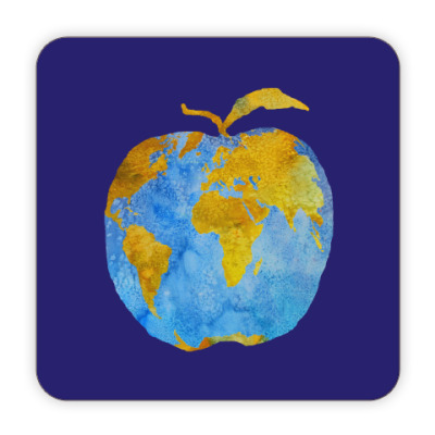 Костер (подставка под кружку) Apple Earth