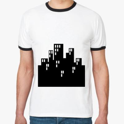 Футболка Ringer-T Город