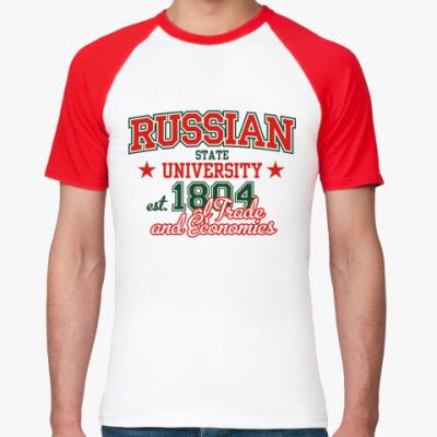 Футболка реглан RSUTE, Moscow