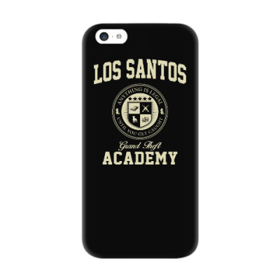 Чехол для iPhone 5c Los Santos Grand Theft Academy