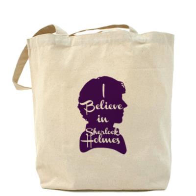 Сумка I Believe In Sherlock Holmes